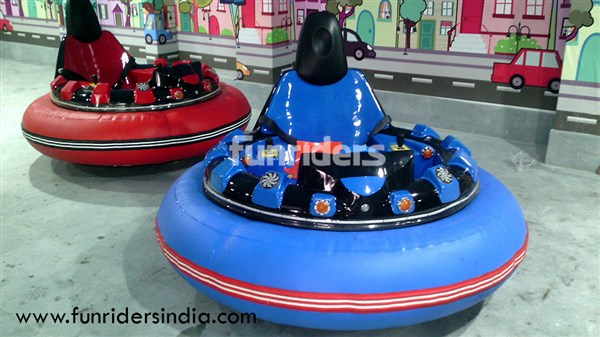 UFO Bumper Cars at Happy Highway