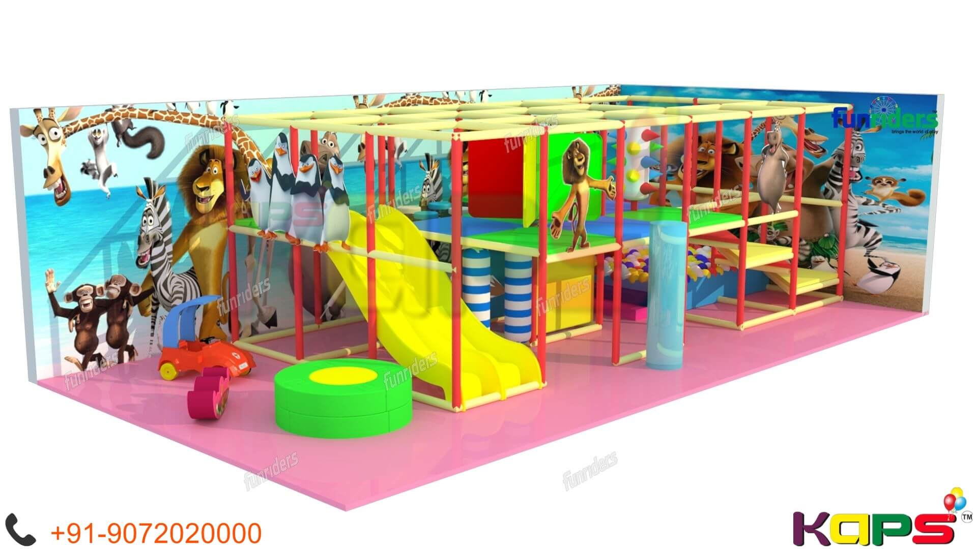 Funriders Indoor Playground Supplier