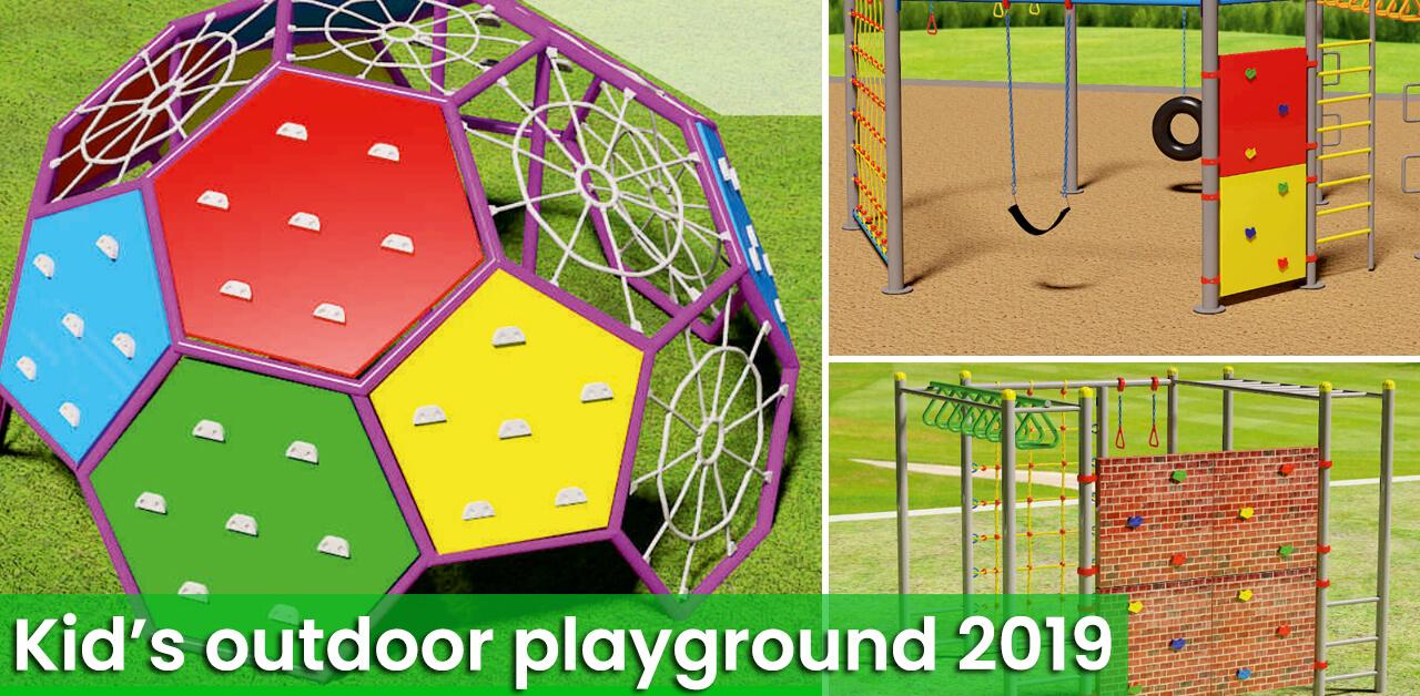 Playground additions 2019; Kids adventure series!!