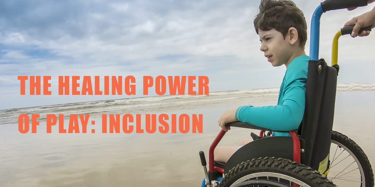 Inclusive playground in India - THE HEALING POWER OF PLAY: INCLUSION