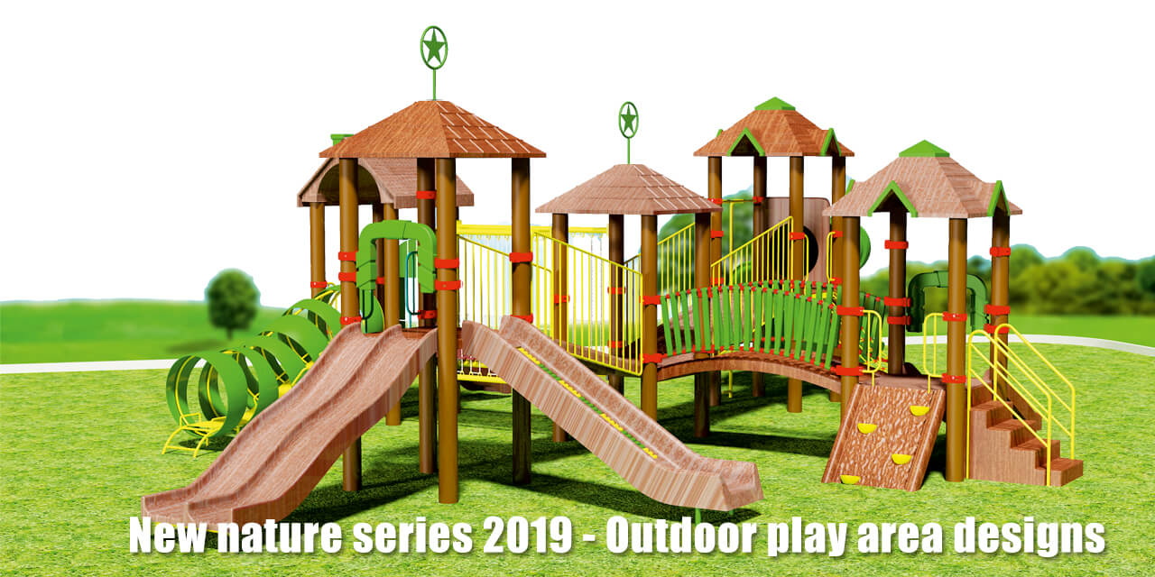 New nature series 2019 - Outdoor play area designs
