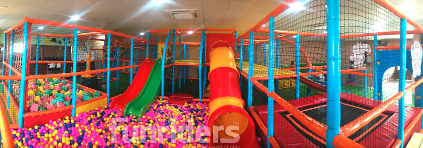 Large Soft Play Structure
